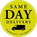 Same Day Delivery in Frankfurt am Main und Offenbach